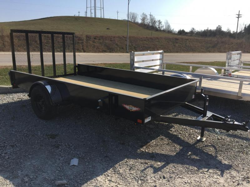2020 H and H Trailer 76X12 STEEL SOLID SIDE 3.5K