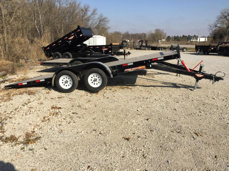 2019 H and H Trailer 82X18 MX SPEEDLOADER 7K
