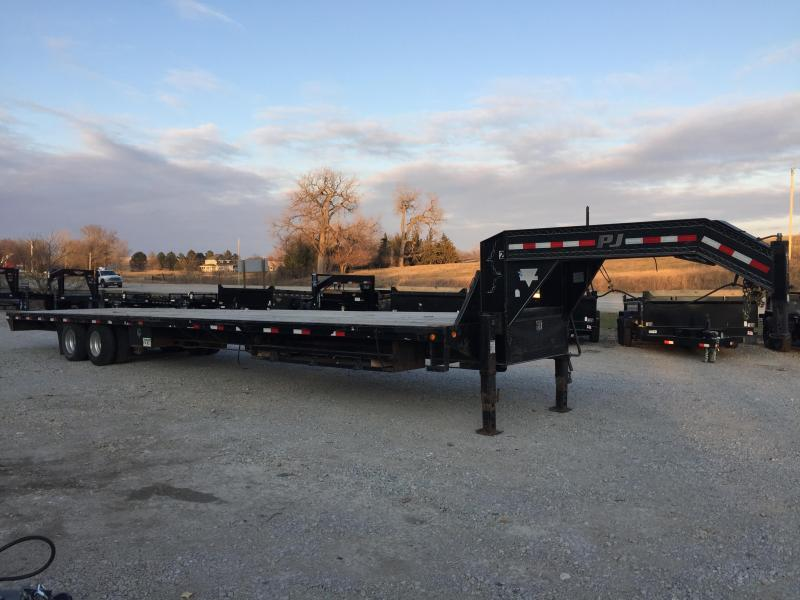2014 PJ Trailers 40' GN Equipment Trailer