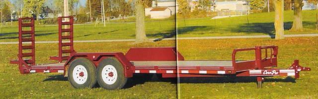 "CornPro 81"" x 18' 12K Equipment w/ Ladder Ramps"
