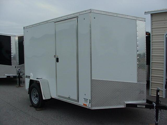 """Pace American Journey SE 6' x 12' w/ Ramp w/Ramp Extension / 6"""" Extra Height"""