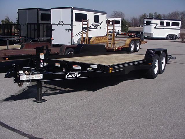CornPro UT-20-AT 10K Full Bed Tilt Utility Trailer