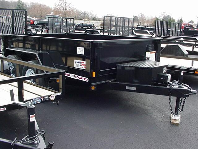 Liberty 83 x 14 x 24 14K Ramps Tarp Charger 12K Jack