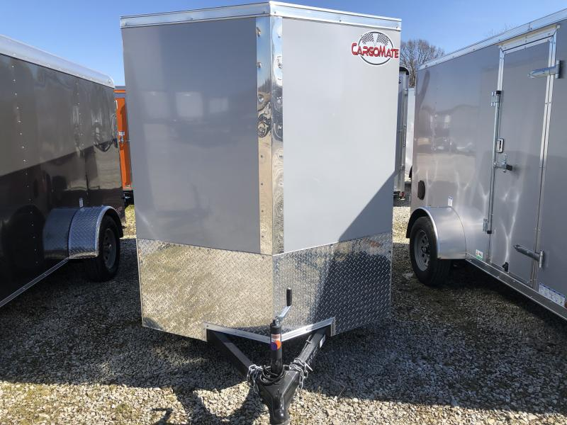 2020 5.5x10 SA Cargo Mate EHW510SA Enclosed Cargo Trailer - 5.5 Wide Body - Ramp Door - .030 Metal Upgrade - 12 Inch Additional Height - Side by Side Package (GVW:  2990)