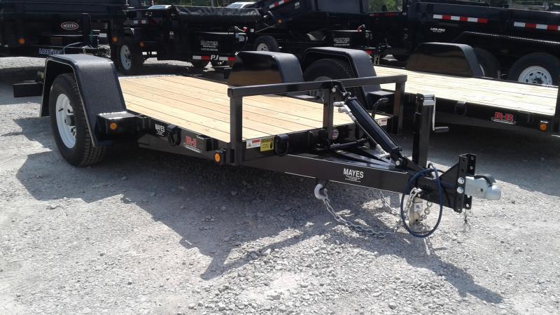 2020 B-B 5x10 (8+2) UT5X10NRT-5E Tilt Utility Trailer - Drop Axle (GVW:  5000)