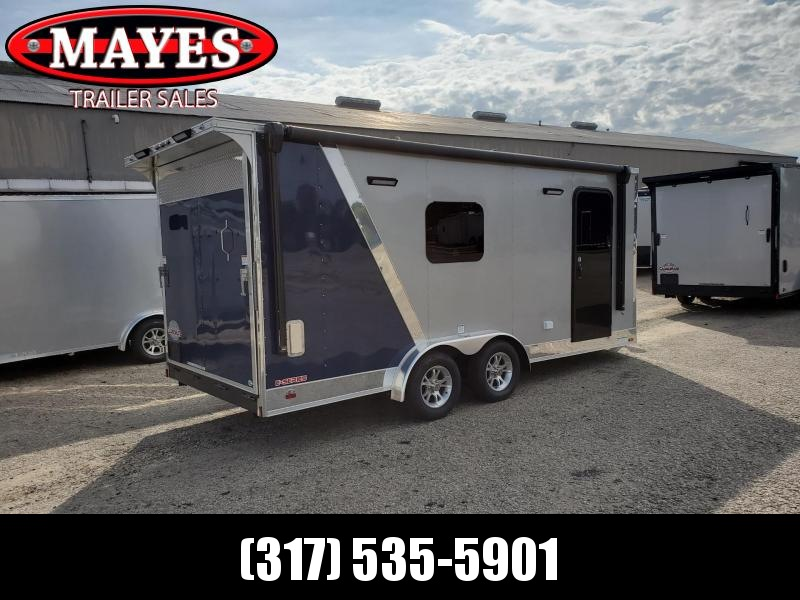 2020 Cargo Mate 7x18 EHW718TA2 Enclosed Cargo Trailer Ramp