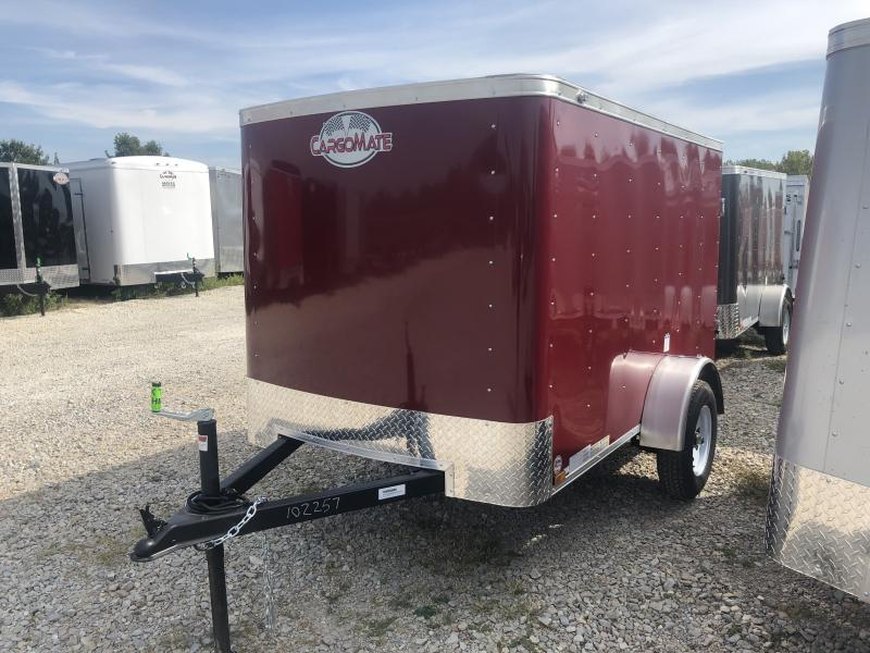 2020 5x8 SA Cargo Mate SS58SA Enclosed Cargo Trailer - 1 Rear Door - .030 Metal Upgrade (GVW:  2000)