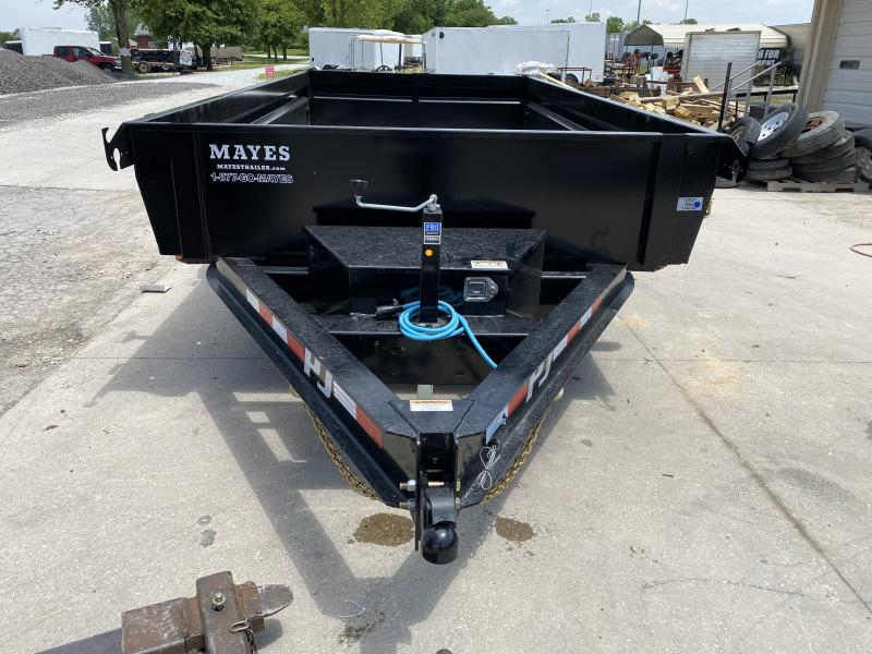 2021 83x14 PJ Trailers DG Low Pro Dump Trailer - (Split Gate)(NO TARP KIT)(GVW: 14000)