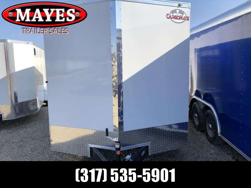 2021 7x16 TA Cargo Mate EHW716TA2 Enclosed Cargo Trailer - Ramp Door - Side Door - Torsion - 6 Inch Additional Height (GVW:  7000)