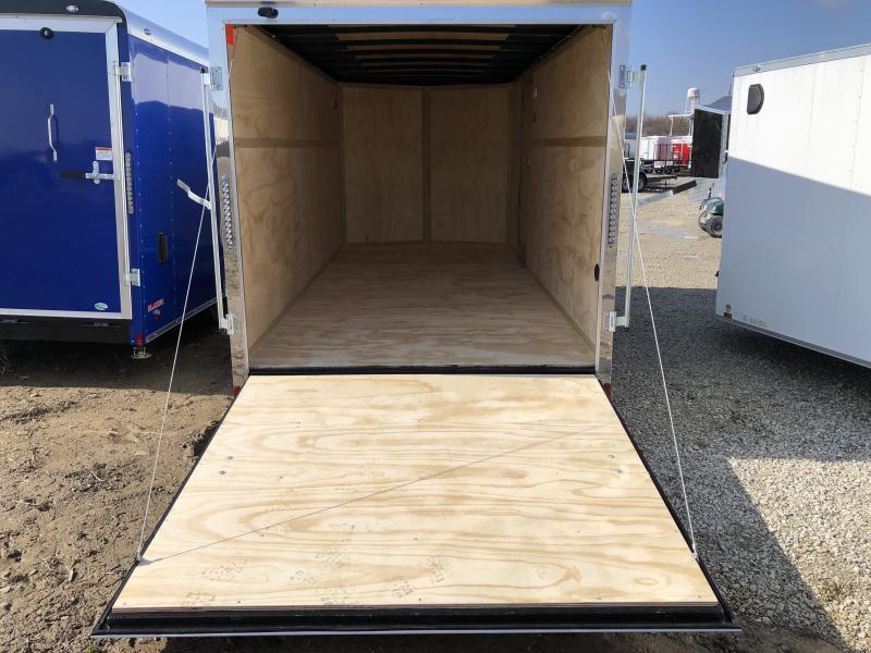 2021 7x16 TA Cargo Mate EHW716TA2 Enclosed Cargo Trailer - Ramp Door - Side Door - Torsion - 6 Inch Additional Height (GVW:  7000)
