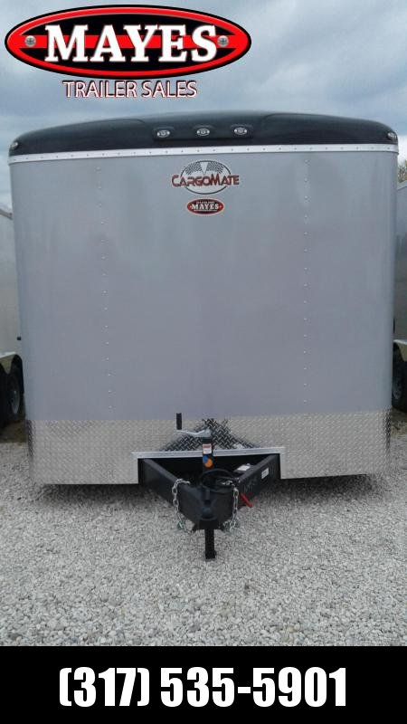 2020 8x16 Cargo Mate BL816TA2 Enclosed Cargo Trailer - Diamond Ice (RD)(GVW: 7000)