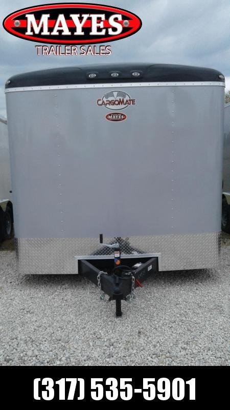 2020 8x16 Cargo Mate BL816TA2 Enclosed Cargo Trailer - Diamond Ice (RD)(GVW: 7000)