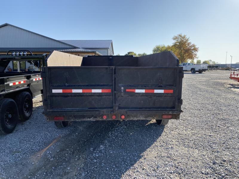 2012 83x14 PJ Trailers D7 USED Gooseneck Dump Trailer - (GVW: 15680)