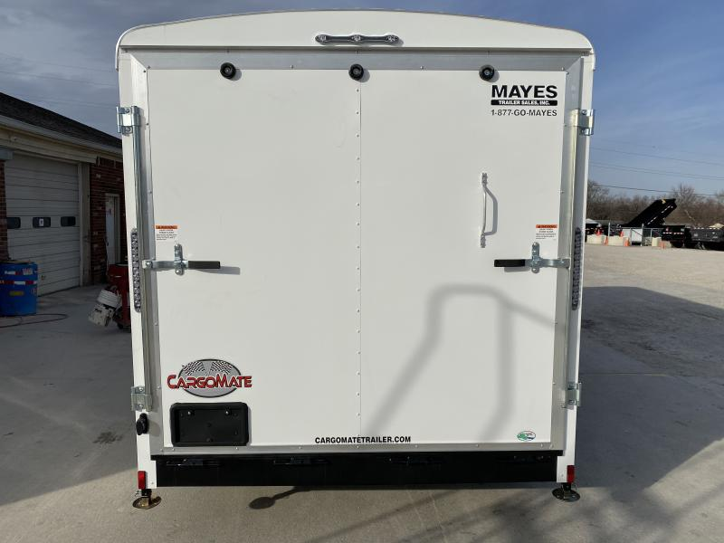 2020 7x18 TA Cargo Mate BL718TA3 Enclosed Cargo Trailer - Ramp Door - Side Door - Torsion Axles (GVW:  9800)