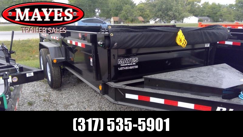 2020 83x16 PJ Trailers Low Pro Dump (DL) Dump Trailer - Tarp Kit - 10k Jack - Full Size Divided Toolbox - (GVW: 14000)(6in Cylinder Upgrade)