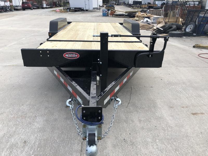 2020 83x20 (4+16) TA B-B TBCT2016ET Equipment Tilt Trailer - Cushioned Cylinder - D-Rings - Pallet Fork Holders - Chain Tray (GVW:  16000)