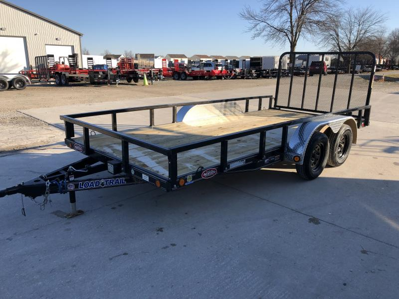 2020 83x16 TA Load Trail XT8316032 Utility Trailer - Removable Fenders - 4 Foot Fold In Gate - U Hooks (GVW:  7000)