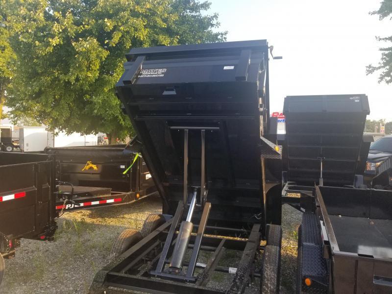 2020 5x10 Load Trail DT60 Dump Trailer - (Ramps)(Split/Spreader)(GVW: 7000)