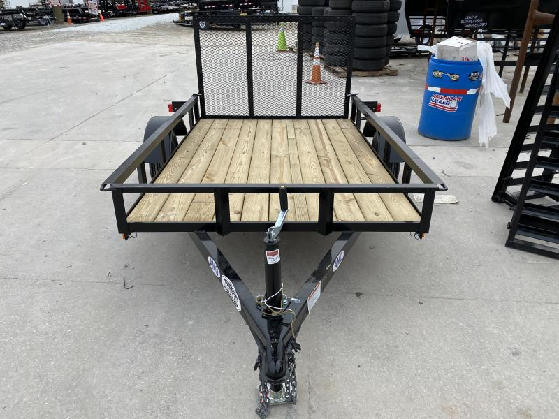 2020 5x8 SA AMO UL081 Utility Trailer - TWF - Tailgate - 12 Inch Tires and Wheels (GVW:  2000)