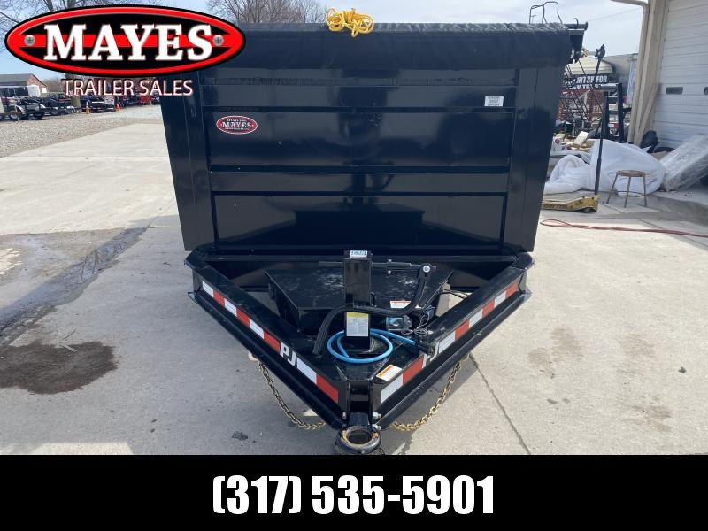 2020 83x14 TA Low Pro DM142 PJ High Side Dump Trailer - Split/Spread Gate - Pintle - 10K Jack Upgrade - Spare Tire MOUNT ONLY (GVW:  14000)
