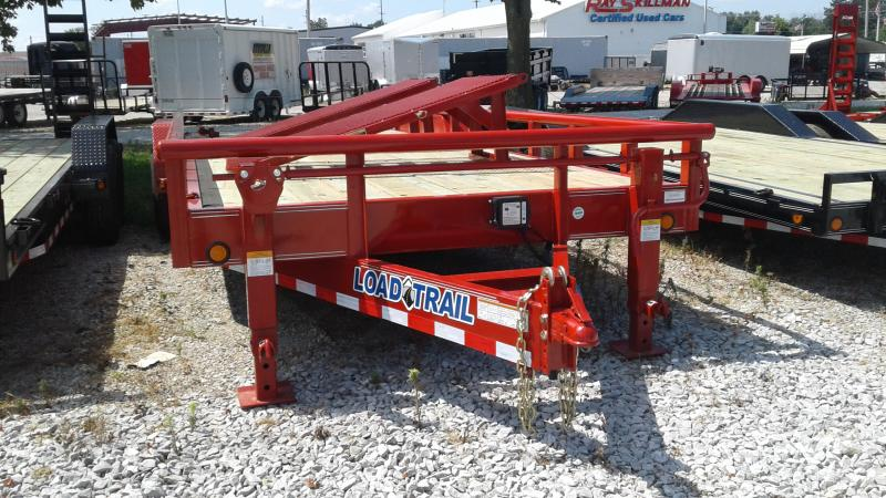 2019 83x24 TA Load Trail CS8324072 Car / Racing Trailer -  HD Split Fold Up Gate (GVW:  14000)