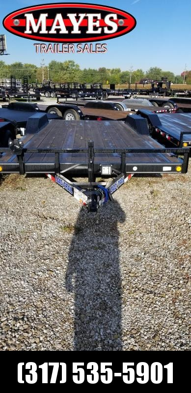2019 102x20(18+2' Dovetail) Load Trail CH20 Car / Racing Trailer - w/ 5' Rear Slide-in Ramps (GVW: 9990) *Drive-over Fenders*