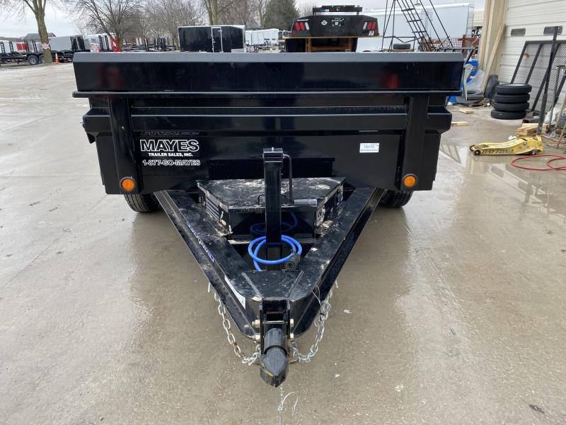 2020 72x10 TA Load Trail DT7210032 Dump Trailer - Tarp Kit - 18 Inch Dump Sides - 3-Way Gate - Scissor Hoist (GVW:  7000)