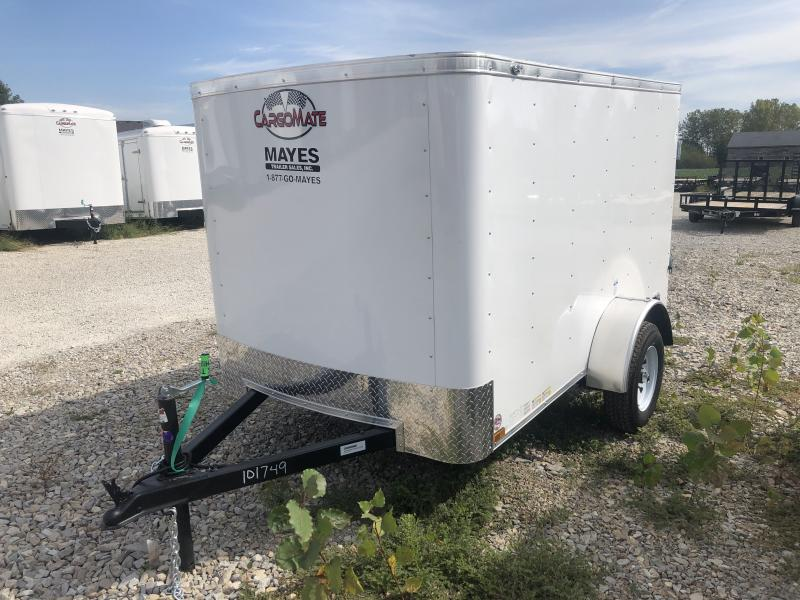 2020 5x8 SA Cargo Mate SS58SA Enclosed Cargo Trailer - 1 Rear Door - Spring Suspension (GVW:  2000)