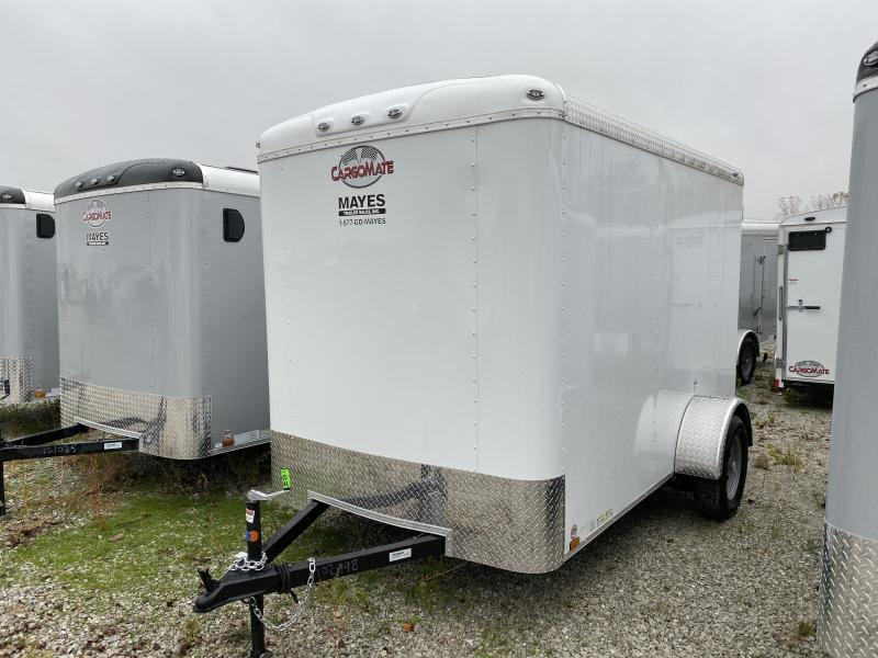 2020 6x10 SA Cargo Mate BL610SA Enclosed Cargo Trailer - Ramp Door - 6 Inch Additional Height (GVW:  2990)