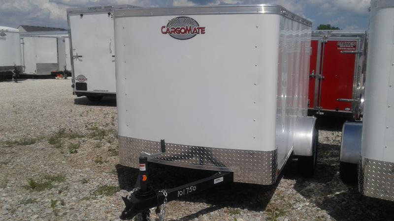 2020 5x8 SA Cargo Mate SS58SA Enclosed Cargo Trailer - Single Rear Door (GVW:  2000)