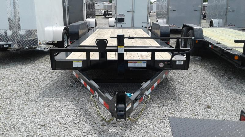 2020 83X20 (16+4) PJ Trailers ; HD Equipment Tilt - Oil Bath Axles - Torsion (GVW:  16000)