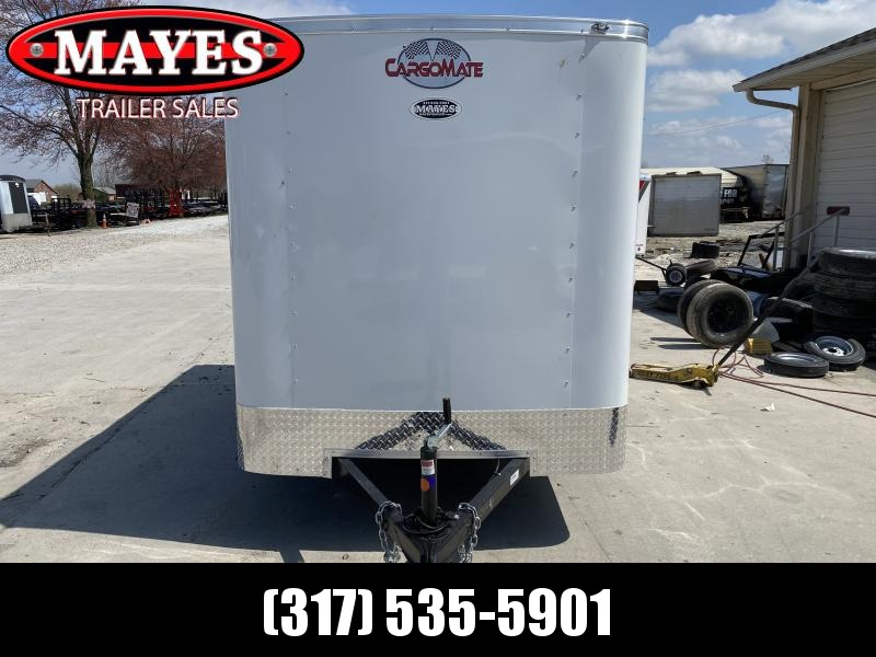 2020 6x10 Cargo Mate SS610SA Enclosed Cargo Trailer - White - Ramp Door (RD)(GVW: 2990)