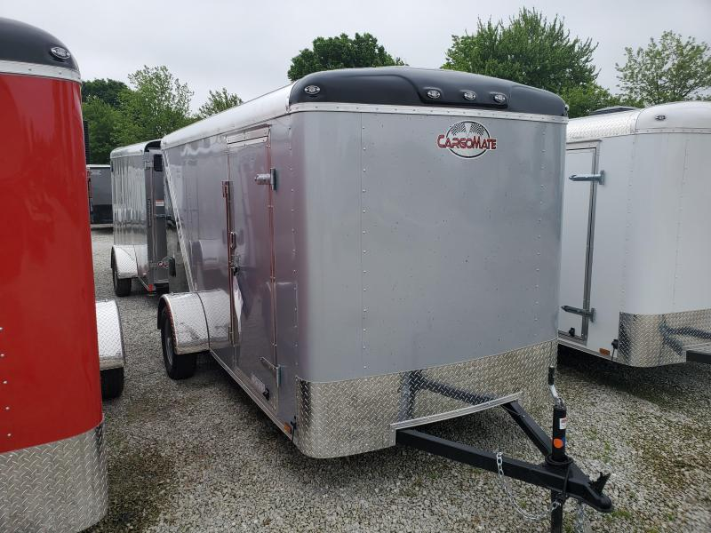 2020 6x12 SA Cargo Mate BL612SA Enclosed Cargo Trailer - Two Tone - Ramp Door (GVW:  2990)