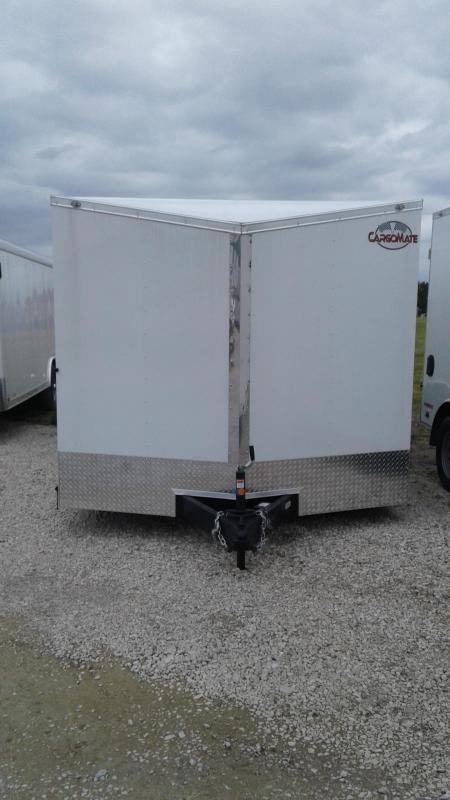 2021 102x22 Cargo Mate EHW8522TA2 Enclosed Cargo Trailer - White (RD)(GVW: 7000)