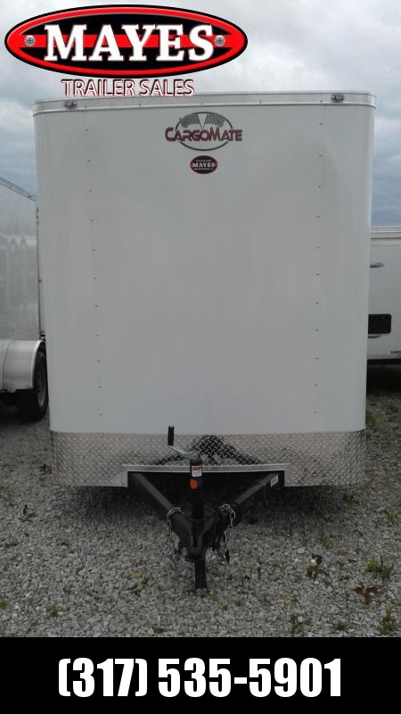 2021 Cargo Mate SS612SA Enclosed Cargo Trailer - 6x12 SA - Ramp Door - Side Door - 12 Inch Additional Height (GVW:  2990)