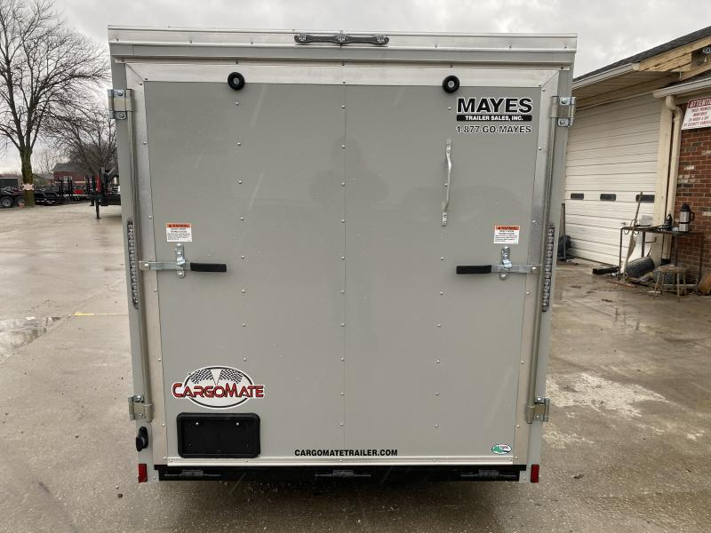 2020 6x12 SA Cargo Mate SS612SA Enclosed Cargo Trailer - .030 Metal Upgrade - Ramp Door - 6 Inch Additional Height (GVW:  2990)
