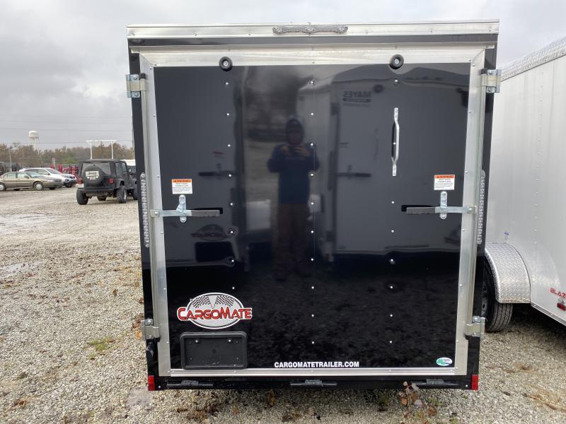 2020 6x12 SA Cargo Mate SS612SA Enclosed Cargo Trailer - Ramp Door - .030 Metal Upgrade - 6