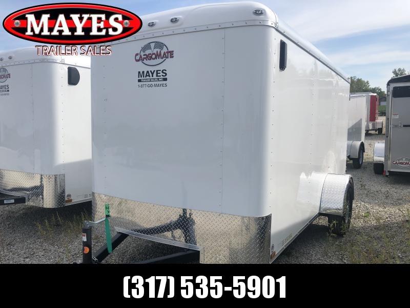 2020 6x12 SA Cargo Mate BL612SA Enclosed Cargo Trailer - Double Door (GVW:  2995)