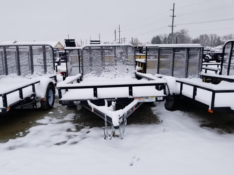 2019 77x10 SA PJ Trailers  Single Axle Channel Utility Trailer - Tailgate (GVW:  2995)