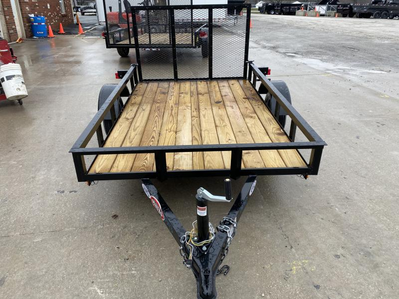 2020 5x8 SA AMO UL081 Utility Trailer - Treated Wood Floor - Tailgate (GVW:  2000)