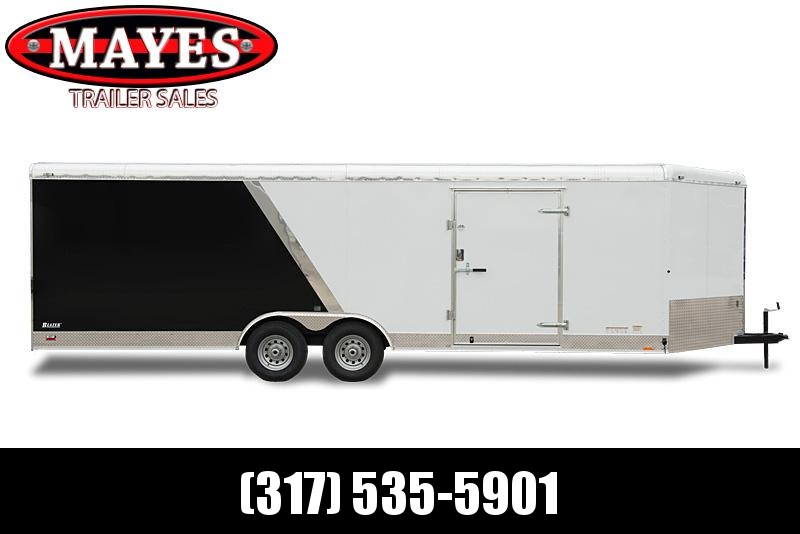 2020 8x16 Cargo Mate BL816TA4 Enclosed Cargo Trailer - Diamond Ice (RD)(GVW: 12000)