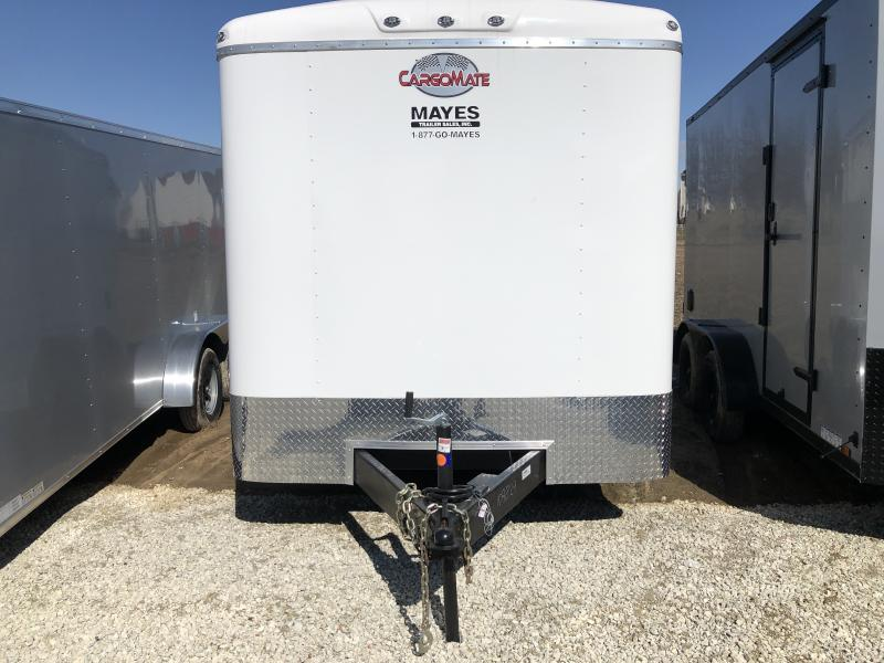 2020 7x14 TA Cargo Mate BL714TA3 Enclosed Cargo Trailer - Double Door with Dual Cambars - Torsion Axle - .080 Roof Cove - Aluminum Roof (GVW:  9800)