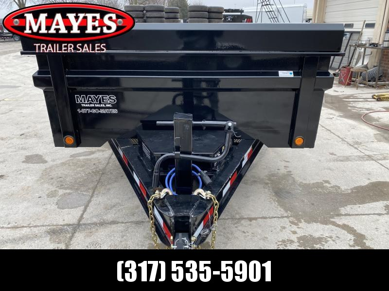 2020 83x14 TA Load Trail DT8314072 Dump Trailer -Tarp Kit - Rear Slide In Ramps - 3-Way Gate - Scissor Hoist (GVW:  14000)