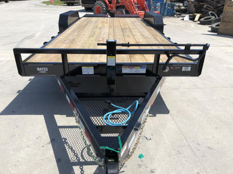 2018 102x28(23+5' Dovetail) Load Trail GP28 Flatbed Trailer