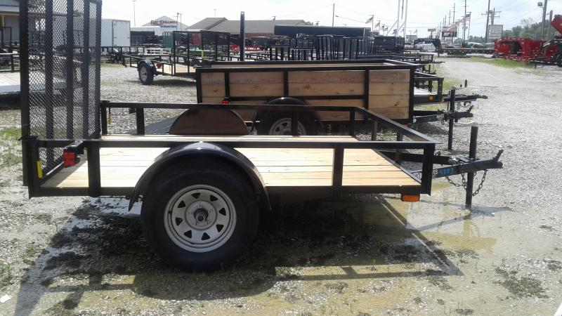 2019 76x8 SA American Manufacturing Operations (AMO) US081 Utility Trailer - Tailgate (GVW:  2990)
