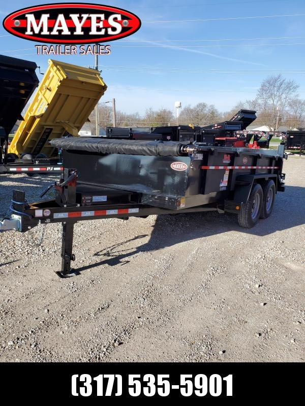 202083x14 TA Low Pro LPD83X14E702 TA B-B Dump Trailer - Tarp Kit - Champion Hoist - 2 Foot Sides - D-Rings - Power Up Power Down and Gravity Down - GVW:  14000)