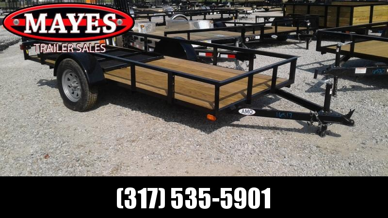 2020 5x12 American Manufacturing Operations (AMO) US121 Utility Trailer