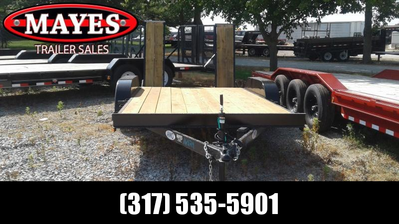 2019 76x14 American Manufacturing Operations (AMO) UT142 Utility Trailer