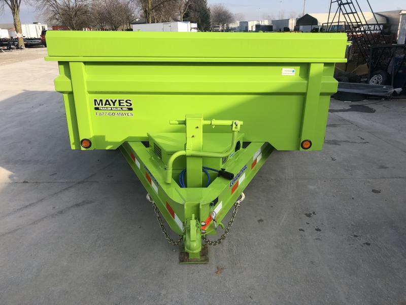 2020 83x12 TA Load Trail DT8312072 Dump Trailer - 3-Way Gate - Rear Slide In Ramps - Scissor Hoist (GVW:  14000)