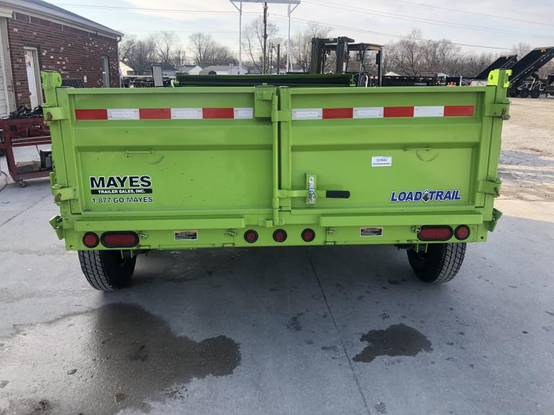 2020 83x12 TA Load Trail DT8312072 Dump Trailer - 3-Way Gate - Rear Slide In Ramps - Scissor Hoist (GVW:  14000)